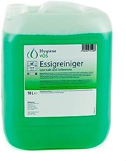 comprar comparacion Hygiene VOS Limpiador Multisuperficies de Vinagre Ultra Potente de 10 litros. Elimina eficazmente la cal, manchas de agua ...