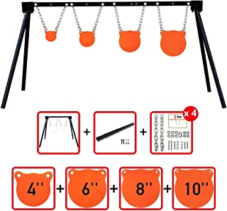 Highwild Steel Target Stand AR500 Shooting Target System Complete Kit Combination (4)