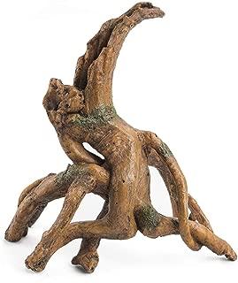 Niteangel Driftwood Resin Tree Stump Decor for Aquarium Ornament (DW-01)