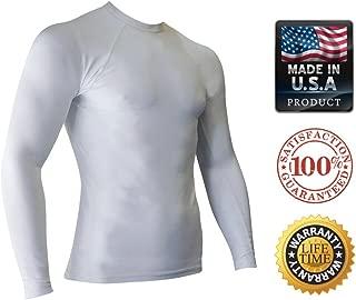 Rash Guards for Men - UV 50 Sun Protection Swim Shirts Long Sleeve