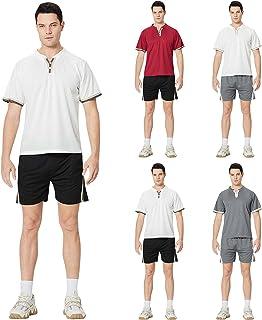AWDX 2021 Summer Tracksuit Men's Sportswear for Men Large Sizes Cheap Two Piece Jogging Suit Sports Clothes Men Activewear...