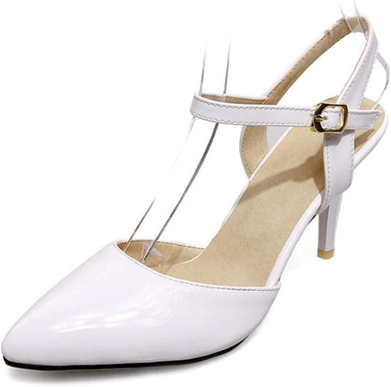 Trendy-Nicer Women High Heel shoes 7 Crs Women Stiletto Wedding shoes Pointed Toe s 31-47