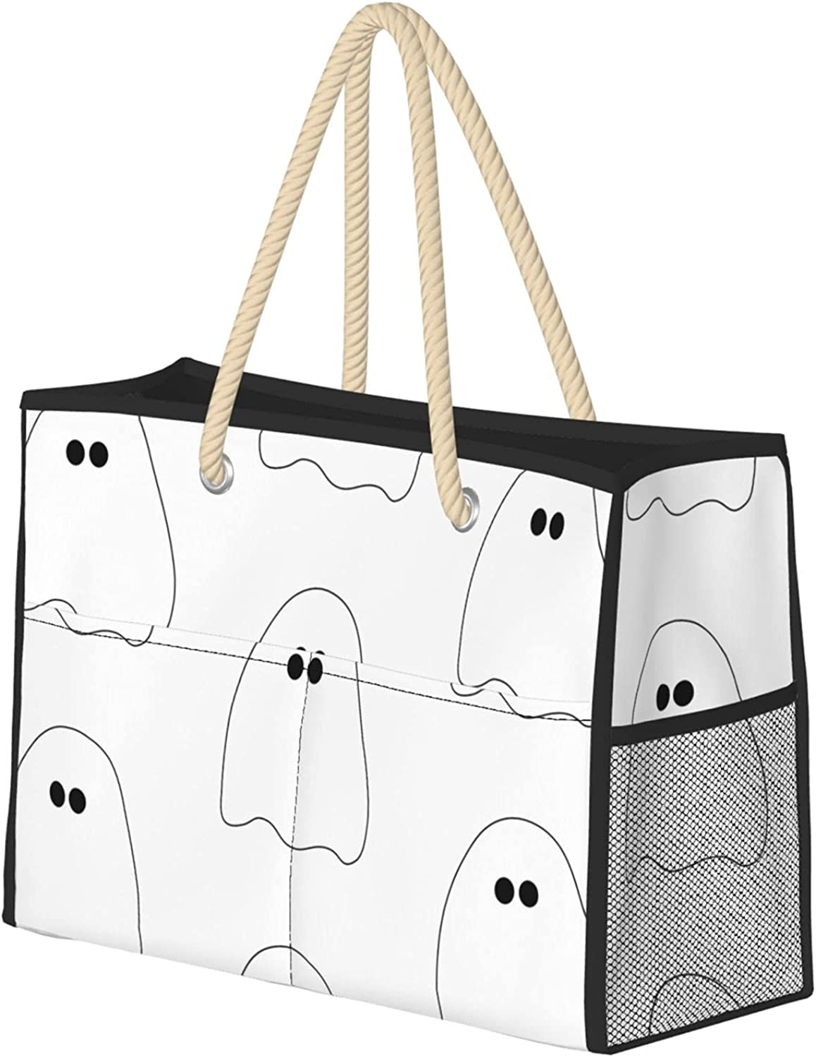 Ghost Beach Bag Tucson Mall Long Mall Extra Large Tote B Foldable Shoulder
