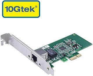 Gigabit LAN カード,インテル I210-T1オリジナルチップ実装,1000Base-TシングルRJ45 ポート,PCI-E 2.1 X1,PCサーバ用