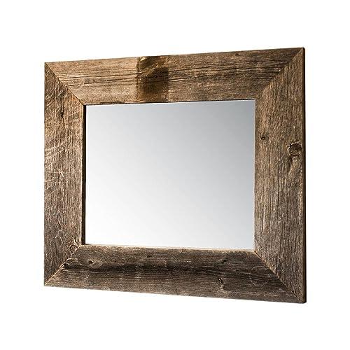 . Rustic Bathroom Mirrors  Amazon com