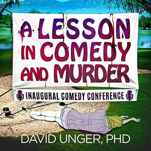 A Lesson in Comedy and Murder cover art