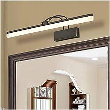 De nieuwe European American Style Black 39/54 / 73cm lange strook Mirror Front Light All Copper Water-proof Fog Badkamer k...