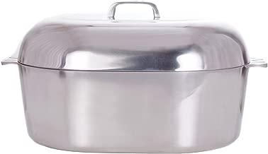 Cajun Classic 18-Inch Oval Aluminum Roaster - GL10055