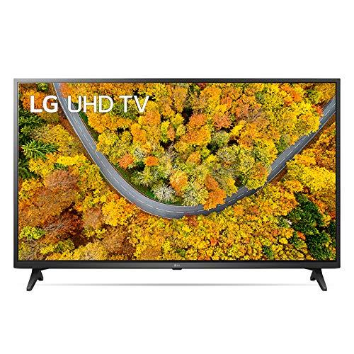 """LG 55UP75006LF Smart TV LED 4K Ultra HD 55"""" 2021 con Processore Quad Core 4K, Wi-Fi, webOS 6.0, FILMMAKER MODE, Game Optimizer, Compatibile con Google Assistant e Alexa"""