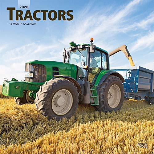 Tractors - Traktoren 2020 - 16-Monatskalender: Original BrownTrout-Kalender [Mehrsprachig] [Kalender] (Wall-Kalender)