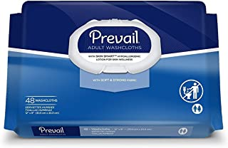Prevail Disposable Adult Washcloth 12