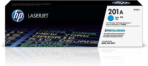 high quality HP online sale 201A | CF401A | Toner-Cartridge | Cyan | outlet online sale Works with HP Color LaserJet Pro M252dw, M277 series sale