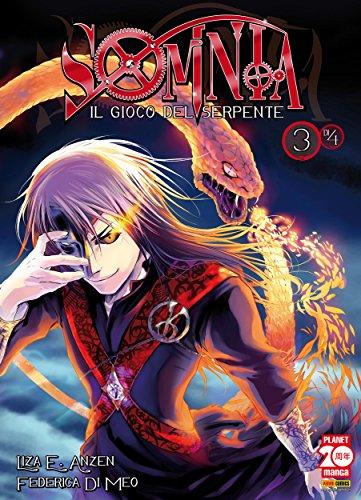 Somnia. Il gioco del serpente 3 (Manga) (Italian Edition)