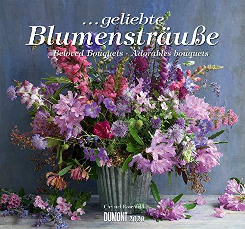 ... geliebte Blumensträuße 2020 – DUMONT Wandkalender – mit allen wichtigen Feiertagen – Format 38,0 x 35,5 cm