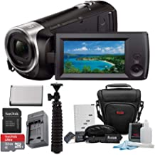 Sony HD Video Recording HDRCX440 Handycam Camcorder w/ 32GB Deluxe Accessory Bundle