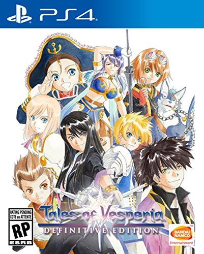 Tales Of Vesperia- Definitive Edition- PlayStation 4