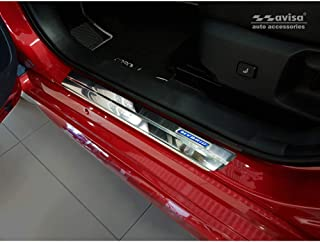 Avisa 2/23017 Edelstahl Einstiegsleisten Toyota Corolla XII Limousine/Hatchback/Touring Sports 'Hybrid' 2018 4 Teilig