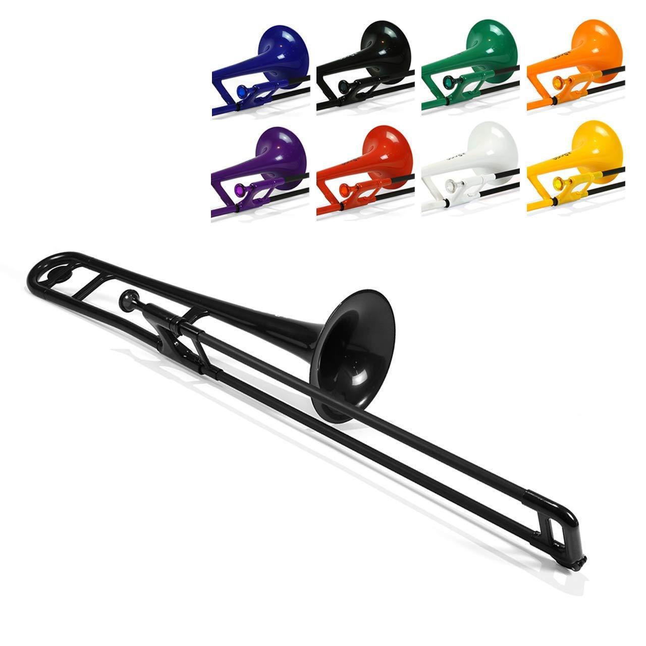 pbone 700645 - Trombón con boquilla y funda: Amazon.es: Instrumentos musicales