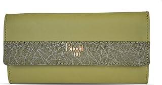 Baggit Autumn-Winter 2020 Faux Leather Women's 3 Fold Wallet (Green) (Tiler)