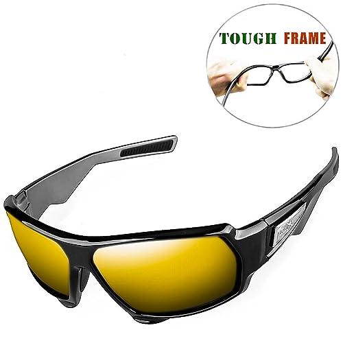 cd0f098d3c6 FLEX Stealth – Polarized Sports Sunglasses for Men or Women
