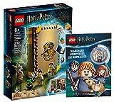 Collectix Lego Set – Harry Potter Hogwarts Momento de Hogwarts (76384) + Aventuras mágicas en Hogwarts (tapa blanda), set de regalo a partir de 8 años