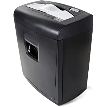 Aurora Professional 8 Sheet Cross-Cut Shredder with Pullout Basket, AU840XA