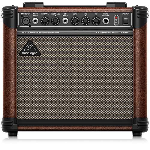 Behringer AT108 - Amplificador Acústico At108 - Amplif guit acus-behringuer-at108
