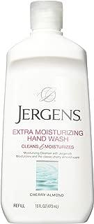 Jergens Moisturizing Liquid Hand Wash, Cherry Almond - 16 Oz (Pack of 3)