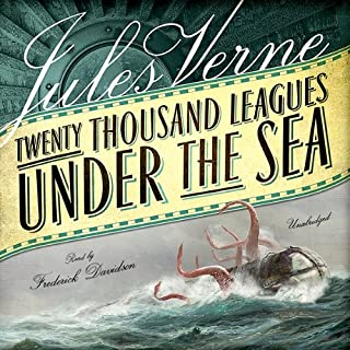 20,000 Leagues Under the Sea audiobook cover art