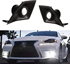 iJDMTOY 70-600-White 6000K Xenon White High Power LED Projector Lens Fog Light F-Sport for 2014 2015 2016 Lexus IS200t IS250 IS300 IS350