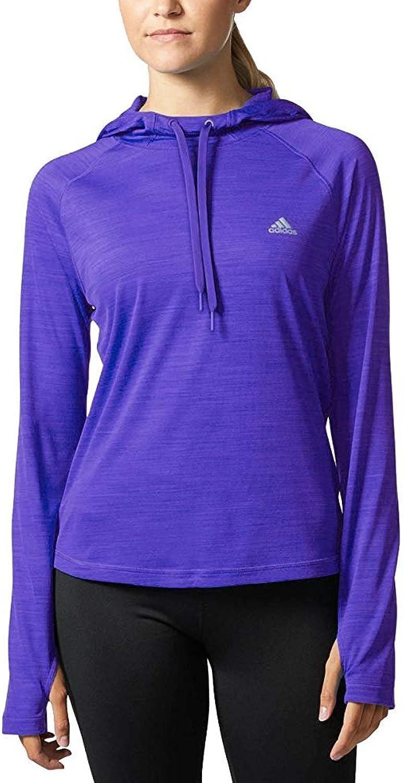 Adidas Women's Climalite Long Sleeve Performance Hoody
