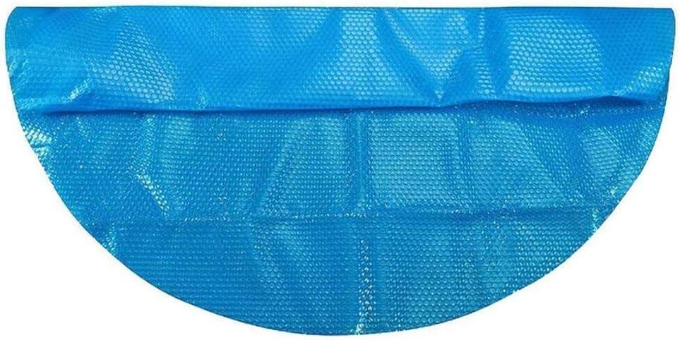 Cobertor Piscina Cubierta de la piscina solar de 3.6m de diámetro con la cubierta del estera del patrón del corazón Manta de burbuja al aire libre para inflable sobre la piscina de tierra Cubierta Par