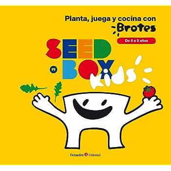 SeedBox SBKCR - Huerto Urbano de Tomates Cherry y rúcula (Kids ...