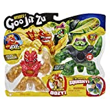 Goo Jit Zu - Pack 2 Héroes Goo Jit Zu (Blazagon Vs Rock Jaw)