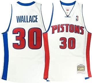 rasheed wallace pistons jersey