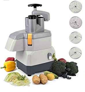 Li Bai Commercial machine slicer Grade Food Cutter Salad Maker Electric Vegetable Multi-Function Vegetable Slicing Machine 1500RPM With 4 Detachable Blades