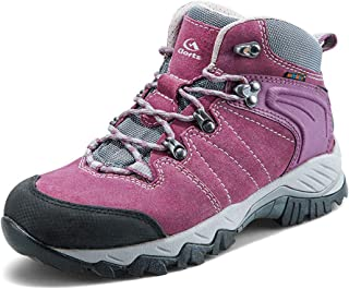 Women's Mid Hiking Waterproof Lightweight Boots | Perfect for Outdoor Backpacking Trekking Lady Hiker Shoe