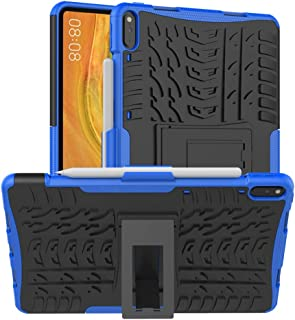 Huawei MatePad Pro 10.8 Case, Ikwcase Heavy Duty Armor Tough Hybrid Shockproof Dual Layer Kickstand Protective Case Cover ...