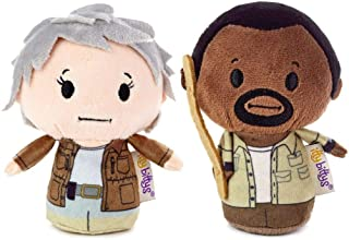 HMK itty bittys The Walking Dead Morgan and Carol Plush
