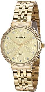 Relógio, Analógico, Mondaine, 99462LPMVDE1, feminino, DOURADO