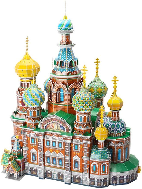 LUGEUK Church of The Savior AUF Spilled BLLOOD Puzzle Model 3D-Modellbaustze