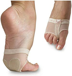 MIKIBANA Women`s Half Sole Dance Shoes Lyrical Bare Foot Thong Dance PAW Shoes Fitness