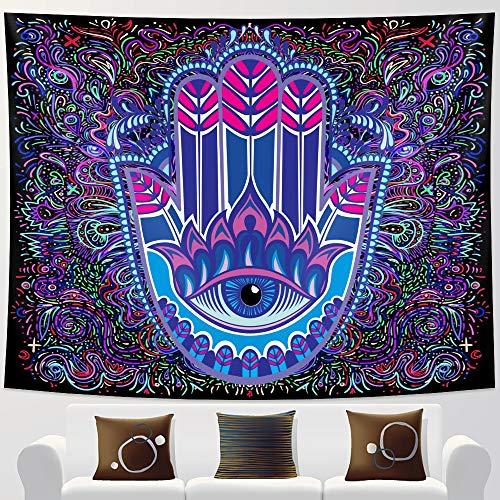KHKJ Tapiz de Chakra de meditación, decoración del hogar, Tapiz de Mandala, Tela de Fondo, decoración de brujería, Tela de Fondo A2 95x73cm