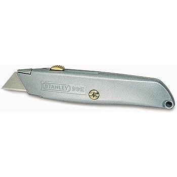 STANLEY 2-10-099  Coltello / Taglierina, metallico professionale a lama retrattile.