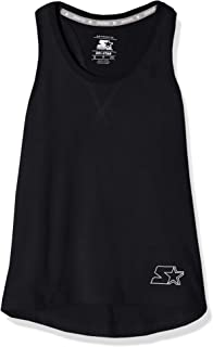 Starter Girls' Cotton Racerback Tank