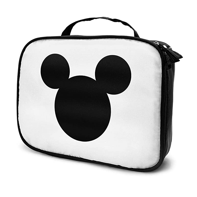 経由で媒染剤足Daituミッキーマウス 化粧品袋の女性旅行バッグ収納大容量防水アクセサリー旅行