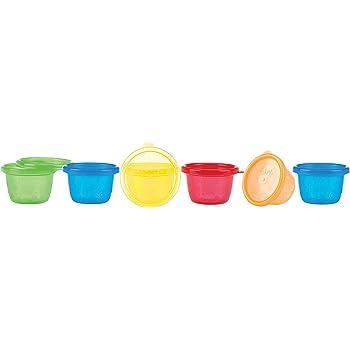 Béaba 912481 - Set de 6 potes de conservación comida para bebés ...