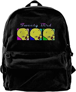 Looney Tunes Tweety Bird Canvas Laptop Bag/Shoulder Bag/School Backpack