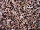 100% chips de coco, grueso, 50 litros (EUR 0,56 / litro), basura adecuada para la protección de malezas, protección de invierno, protección de cultivos, protección de caracoles y fertilizante