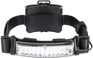 FoxFury 420-T09 Command+ Tilt Fire and Impact Resistant Waterproof White LED Headlamp/Helmet Light, 100 Lumens, Black, Model:Command 420-T09